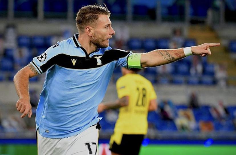 Ciro Immobile / S.S. Lazio / UEFA Champions League