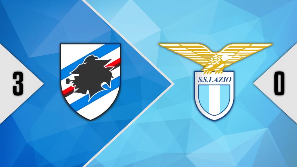 2020/21 Serie A, Sampdoria 3-0 Lazio