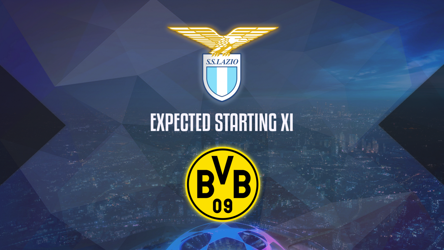 Lazio Vs Borussia Dortmund Expected Starting Lineups The Laziali
