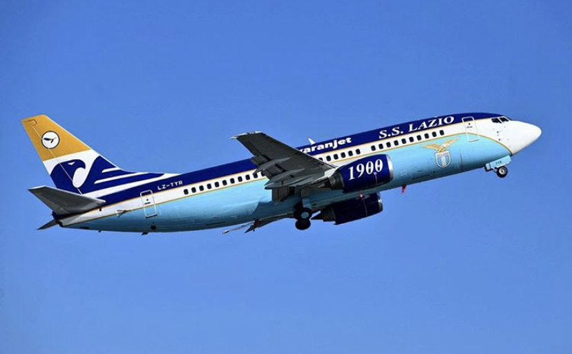 Lazio's Personalized Private Boeing 737-300