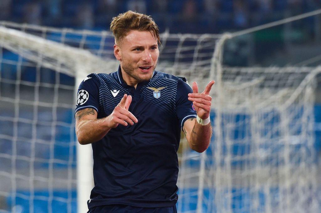 Ciro Immobile / S.S. Lazio vs Zenit / UEFA Champions League