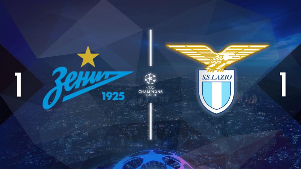2020/21 UEFA Champions League, Zenit 1-1 Lazio