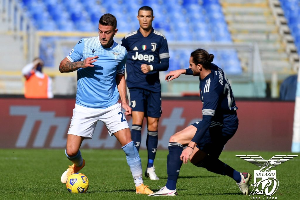 Sergej Milinkovic-Savic / S.S. Lazio vs Juventus