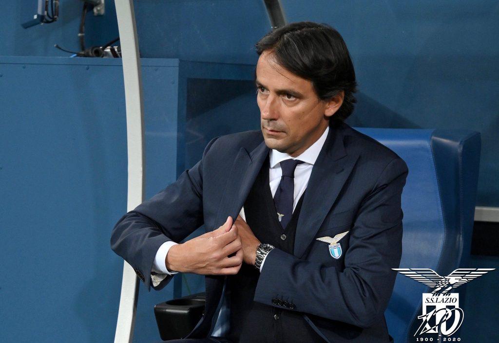 Simone Inzaghi / S.S. Lazio / UEFA Champions League