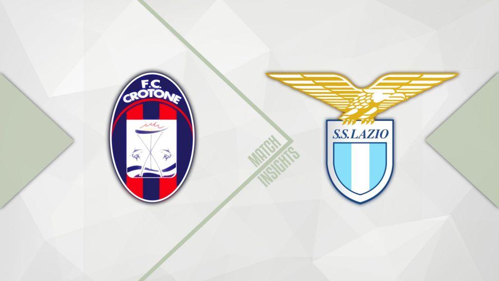 2020/21 Serie A, Crotone vs Lazio: Match Insights