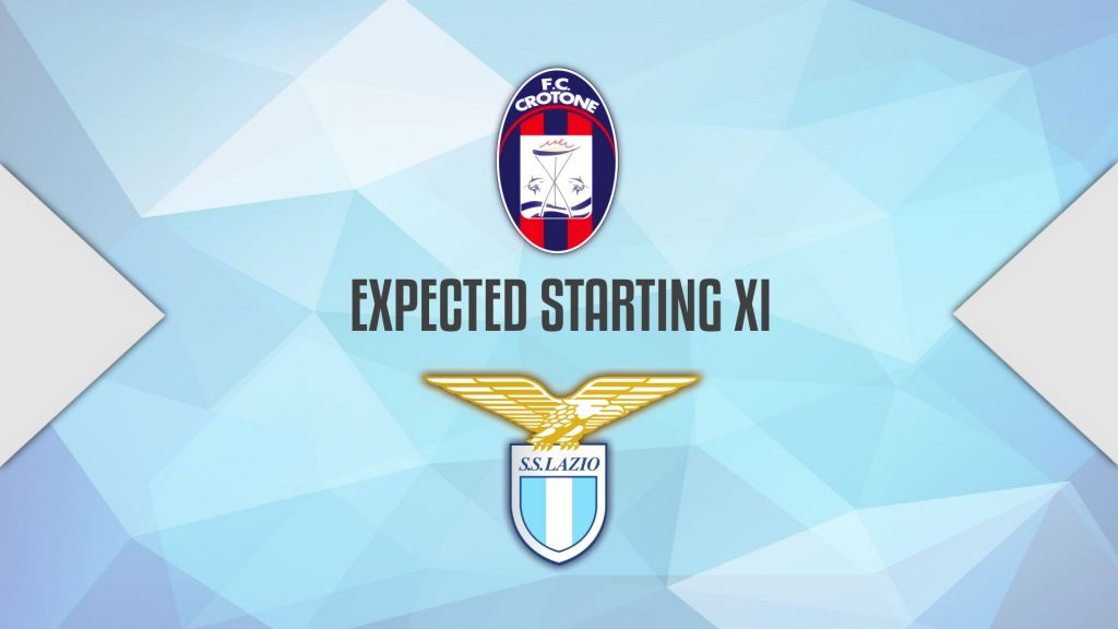 2020/21 Serie A, Crotone vs Lazio: Expected Starting Lineups