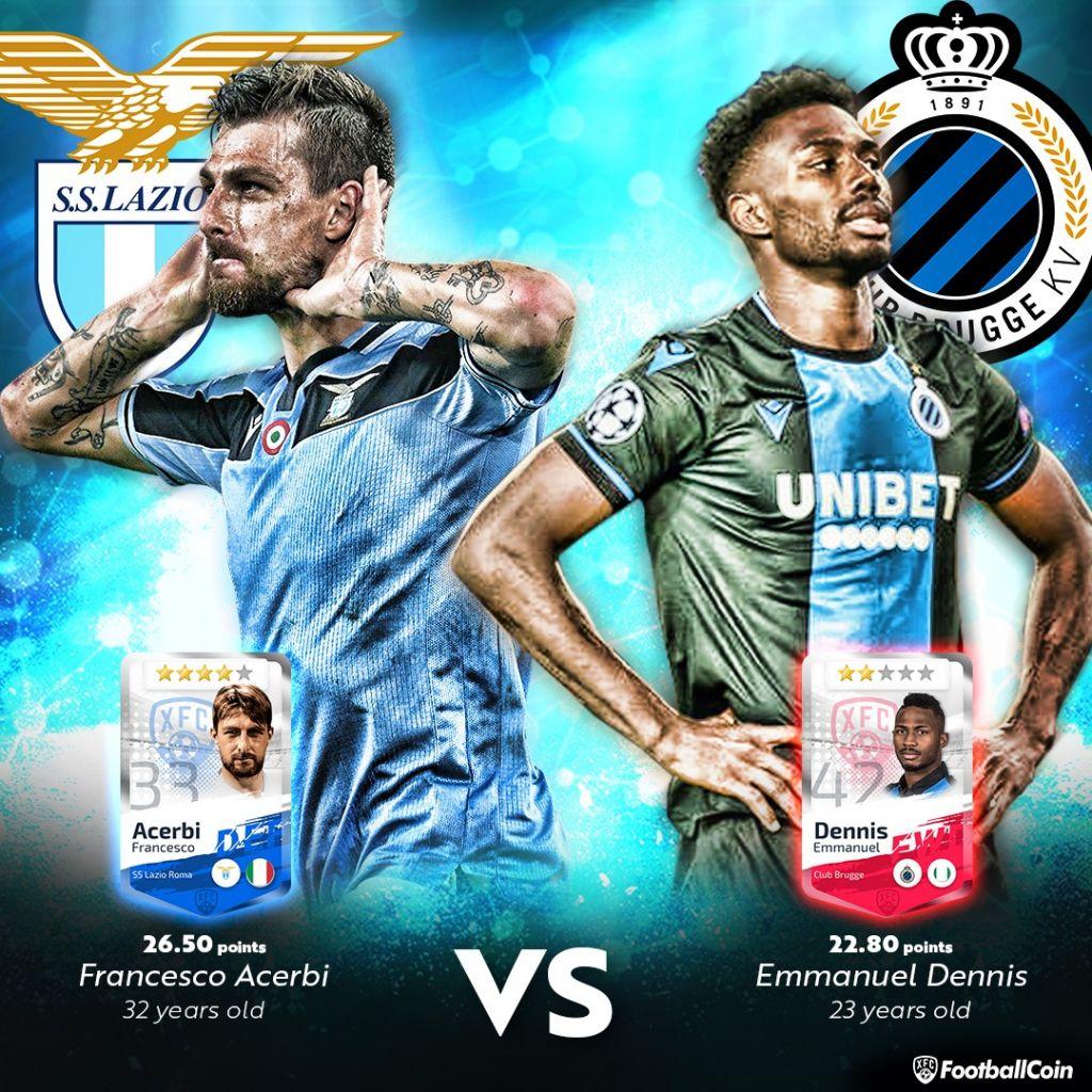 Francesco Acerbi / Emmanuel Dennis / Serie A / FootballCoin.io