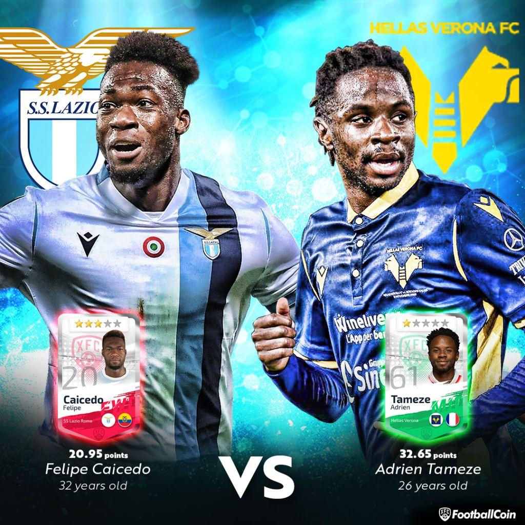 Felipe Caicedo / Adrien Tameze / Serie A / FootballCoin.io