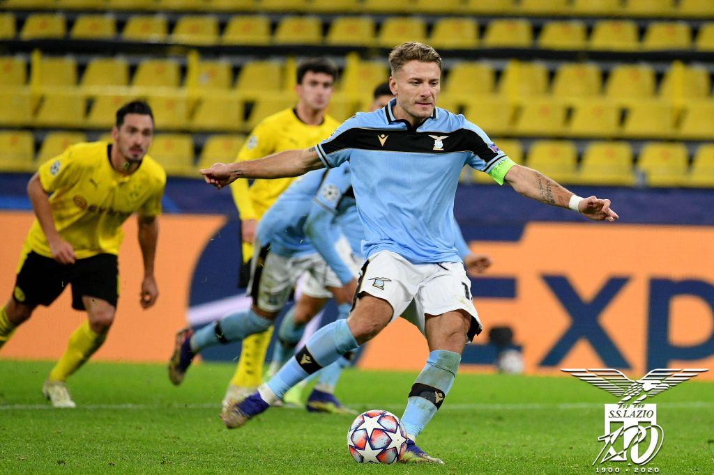Ciro Immobile / Borussia Dortmund vs Lazio / UEFA Champions League