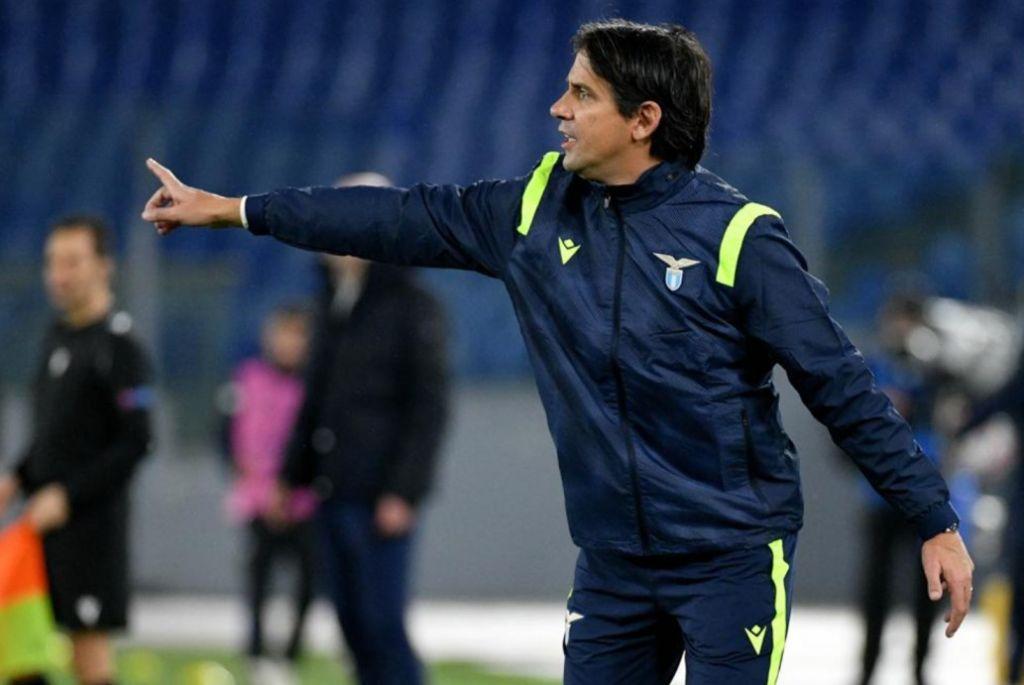 Simone Inzaghi / Lazio vs Club Brugge / UEFA Champions League