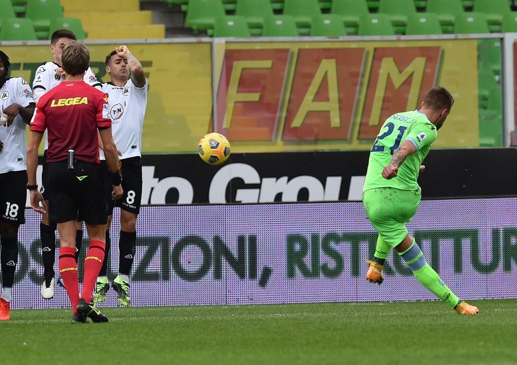 Sergej Milinkovic-Savic / Spezia vs Lazio