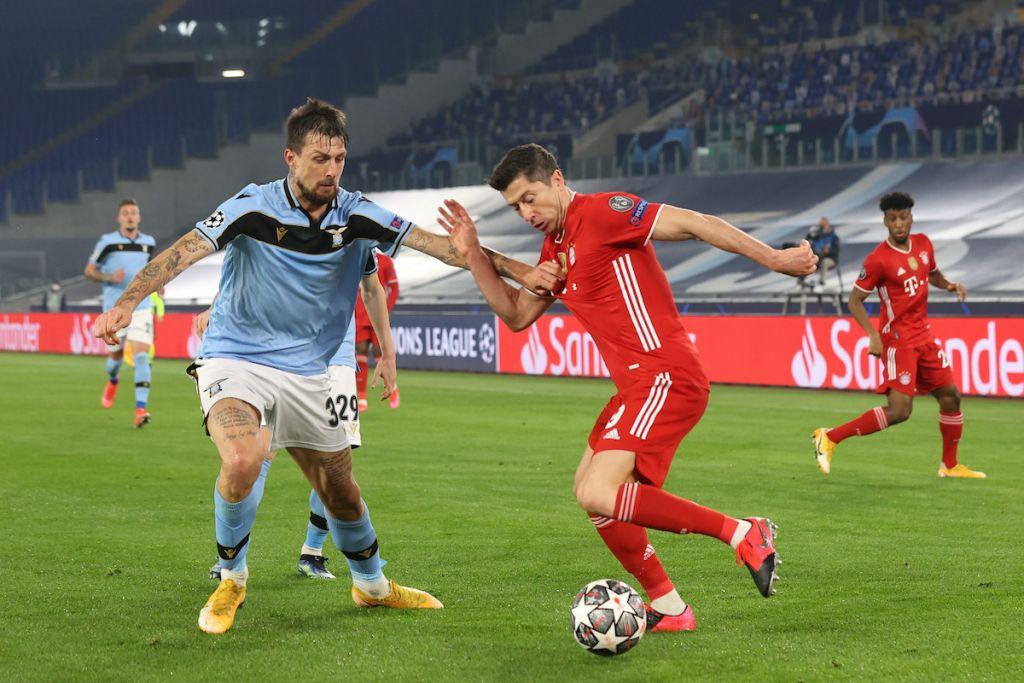 Lazio Defender Francesco Acerbi: