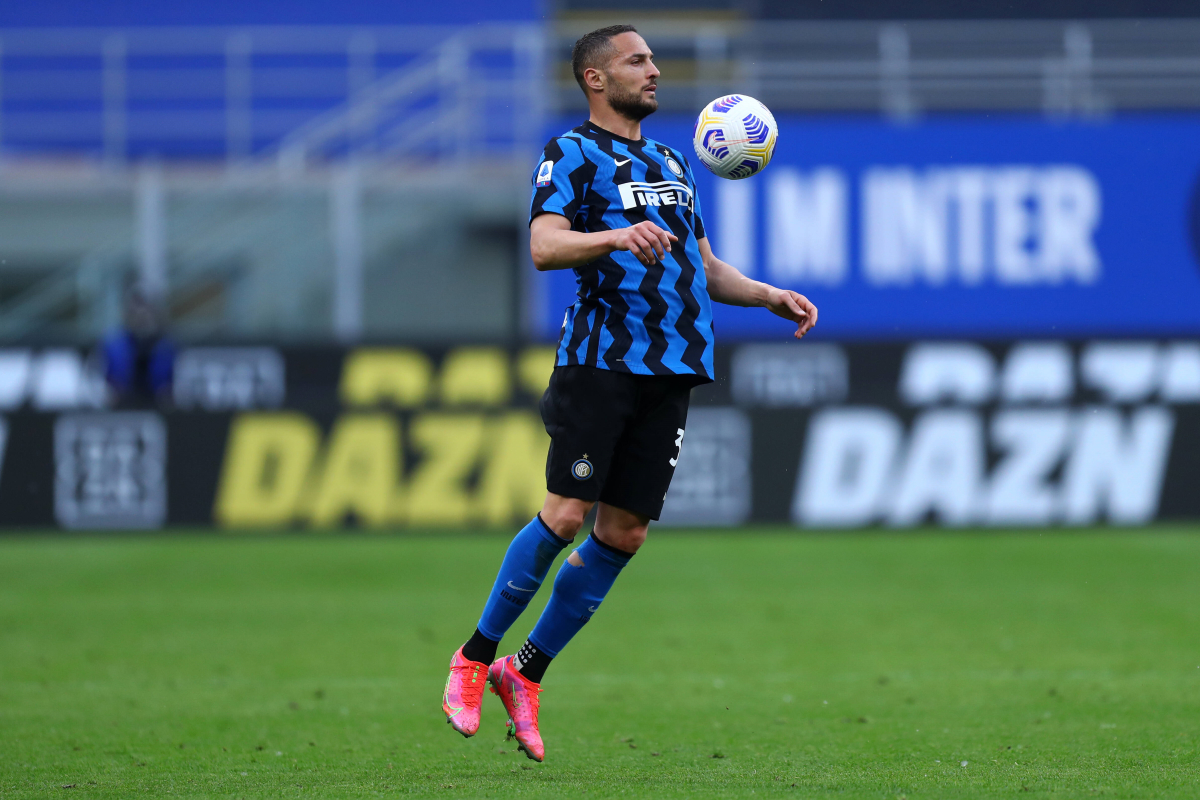 AC Milan Competing With Lazio For Expiring Inter Defender D'Ambrosio - The Laziali