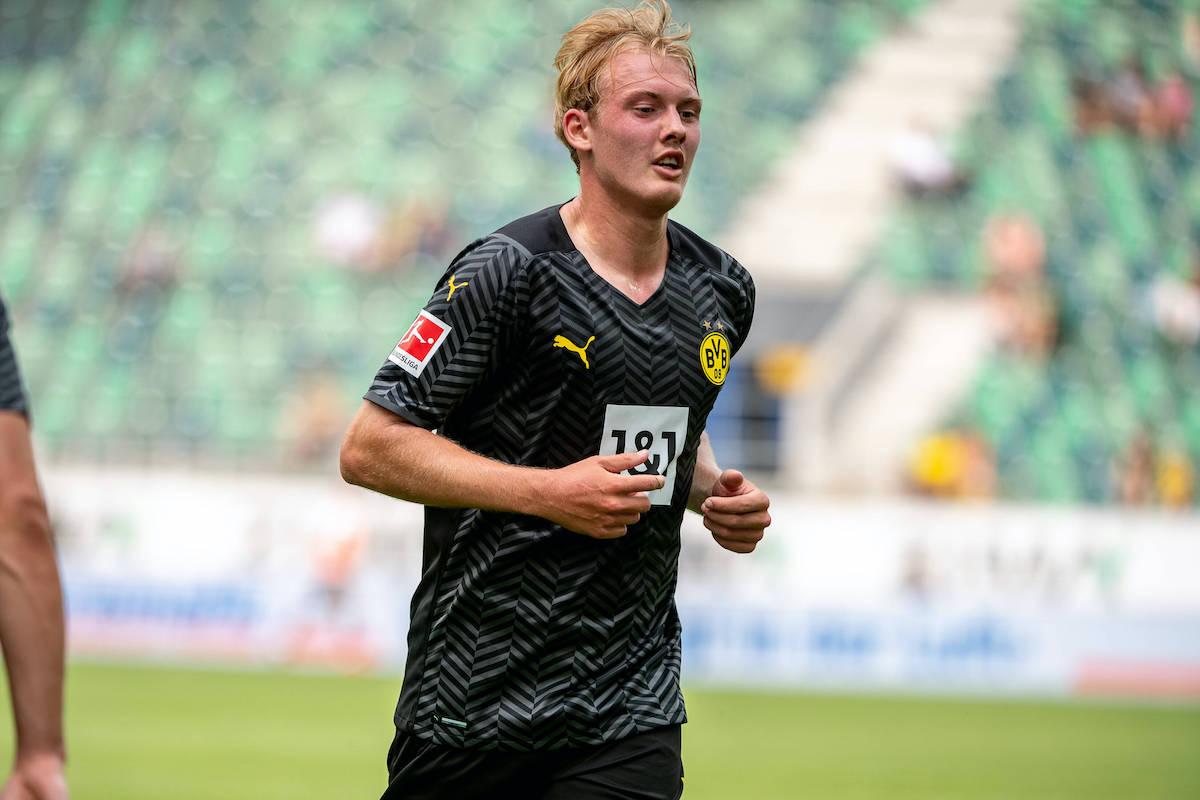 Lazio Facing Competition From AC Milan For Borussia Dortmund Winger Brandt - The Laziali